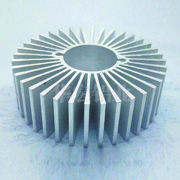 华宏铝业太阳花散热器