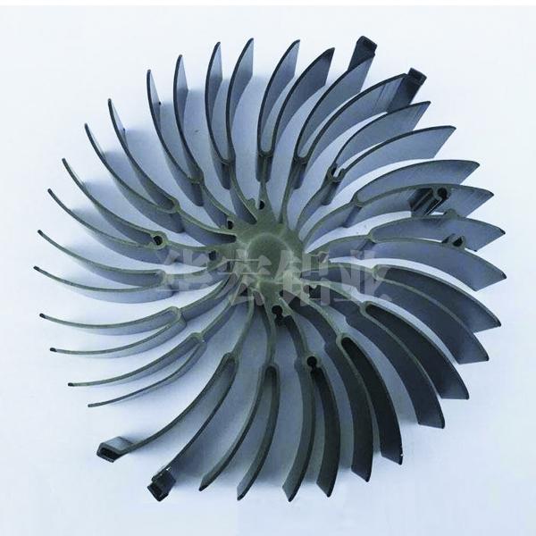 生产太阳花散热器工艺