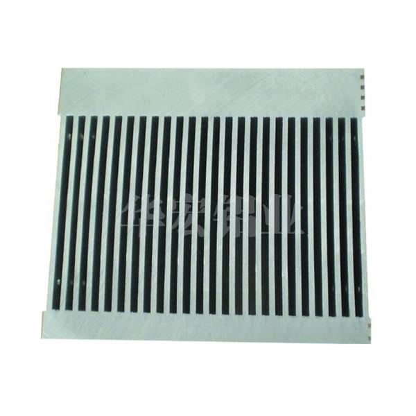 华宏铝业高密齿散热器