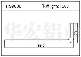 LED散热器HS9008