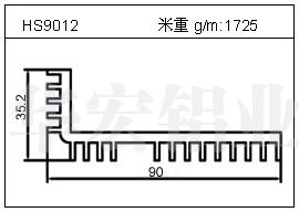 LED散热器HS9012