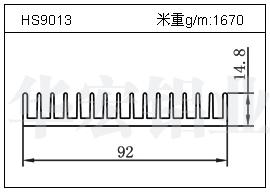 LED散热器HS9013