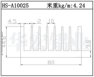 武汉镇江散热器HS-A10025