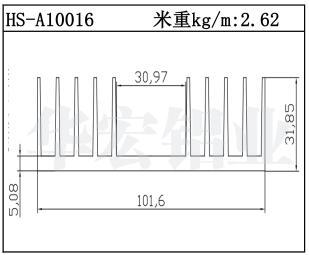 武汉变频散热器HS-A10016