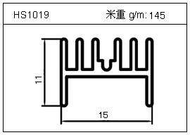 桥架铝型材HS1019