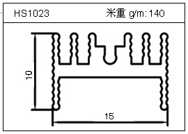 桥架铝型材HS1023