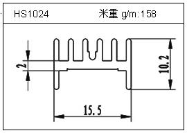桥架铝型材HS1024