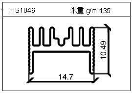 工业铝型材HS1046