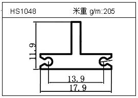 工业铝型材HS1048