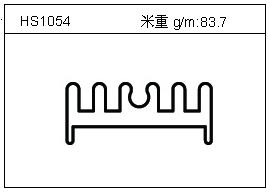 工业铝型材HS1054