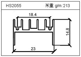 电焊机铝型材HS2055