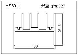 门窗铝型材HS3011