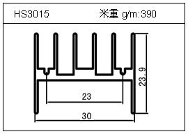 门窗铝型材HS3015