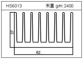 冷凝器铝型材HS6013
