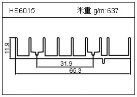 冷凝器铝型材HS6015