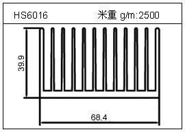 冷凝器铝型材HS6016