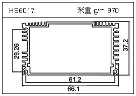 冷凝器铝型材HS6017