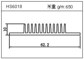 冷凝器铝型材HS6018