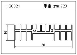 冷凝器铝型材HS6021