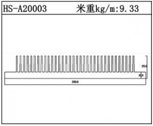 镇江散热器HS-A20003