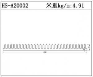 插片散热器HS-A20002