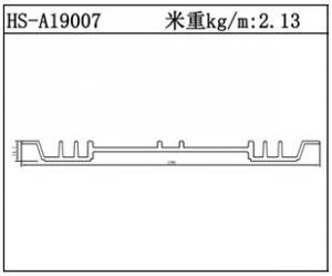 插片散热器HS-A19007