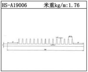 插片散热器HS-A19006
