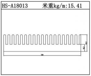 型材散热器HS-A18013