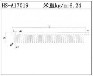型材散热器HS-A17019