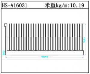 型材散热器HS-A16031