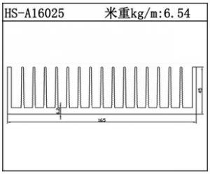 型材散热器HS-A16025