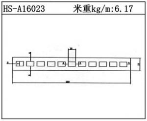 型材散热器HS-A16023
