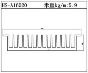 型材散热器HS-A16020