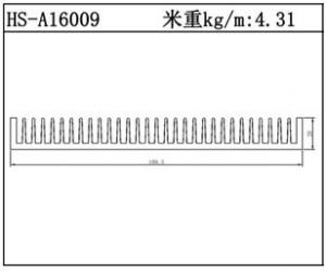 型材散热器HS-A16009