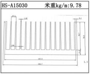 型材散热器HS-A15030