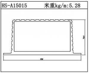 型材散热器HS-A15015