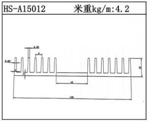 型材散热器HS-A15012