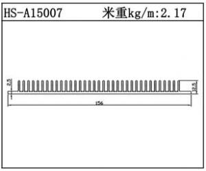 型材散热器HS-A15007