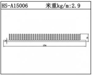 型材散热器HS-A15006