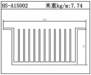 型材散热器HS-A15002