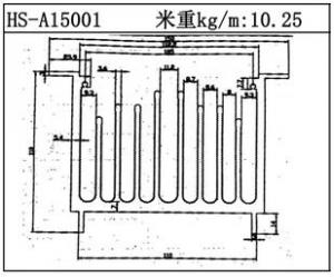型材散热器HS-A15001