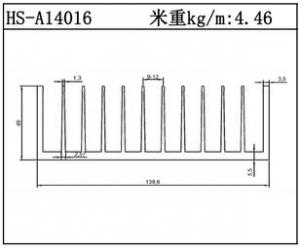 型材散热器HS-A14016