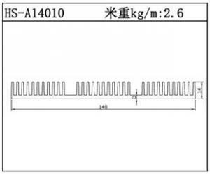 工业铝型材HS-A14010