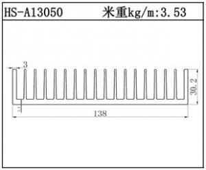 工业铝型材HS-A13050