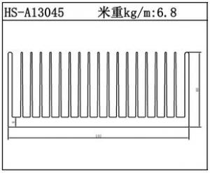 工业铝型材HS-A13045