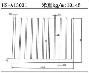 工业铝型材HS-A13031