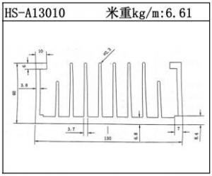 工业铝型材HS-A13010