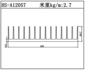 路灯散热器HS-A12057