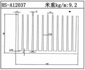 路灯散热器HS-A12037