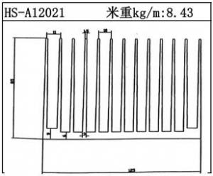 路灯散热器HS-A12021